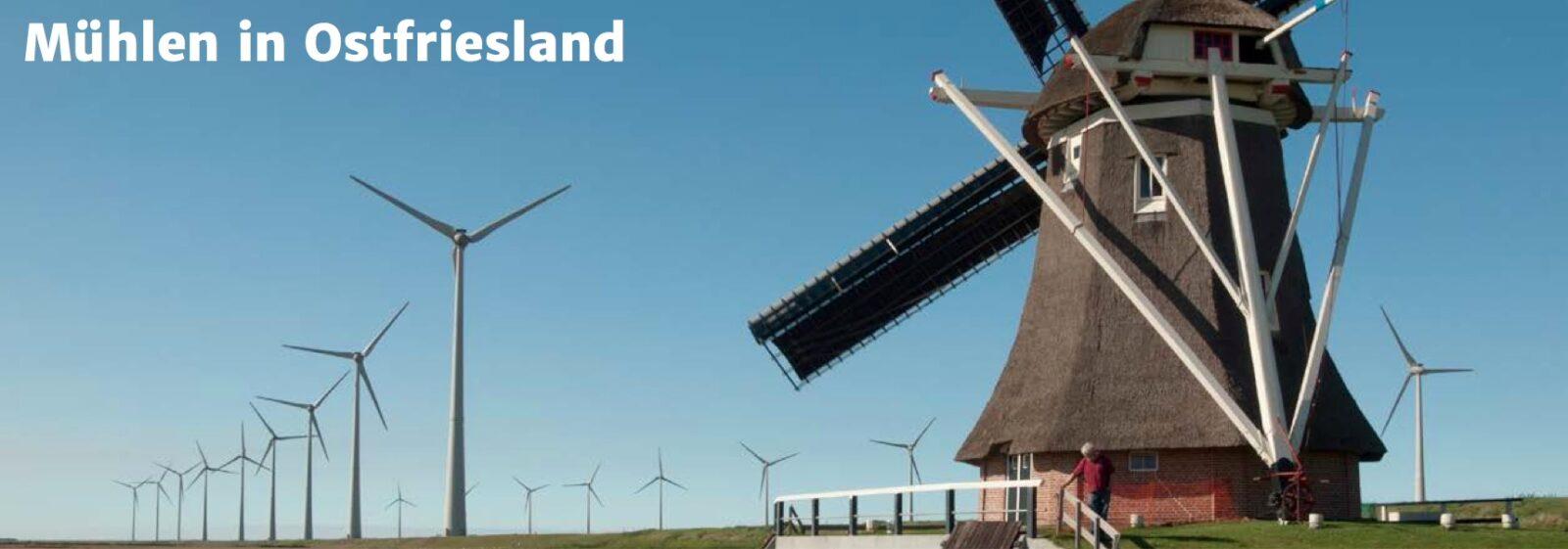 Mühlen in Ostfriesland