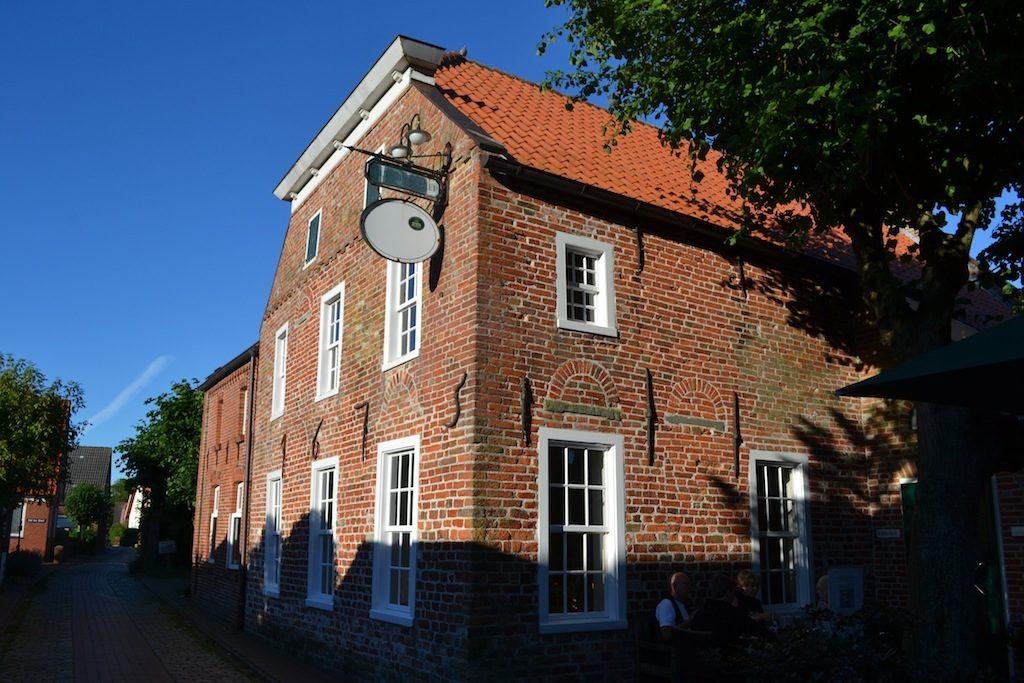Die alte Brauerei in Pilsum aus dem 16 Jahrhundert