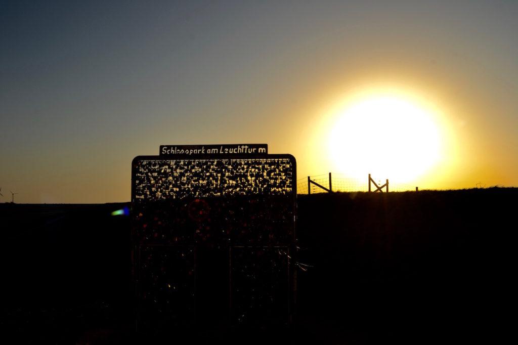 Schloßpark am Leuchtturm Pilsum Ostfriesland