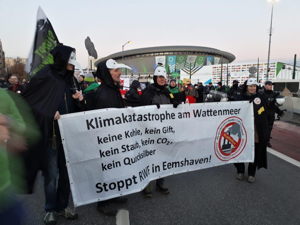 Bürgerinitiative Saubere Luft Ostfriesland über den Besuch beim Weltklimagipfel in Katowice