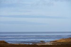 Nordsee vor dem Naturschutzgebiet in Loquard Ostfriesland