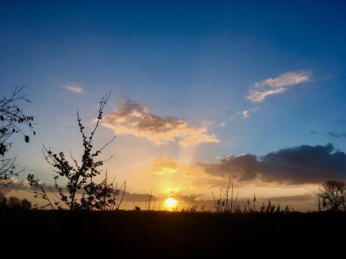 Sonnenaufgang in Loquard