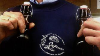 Ostfriesen Bräu Das Bier aus Backband