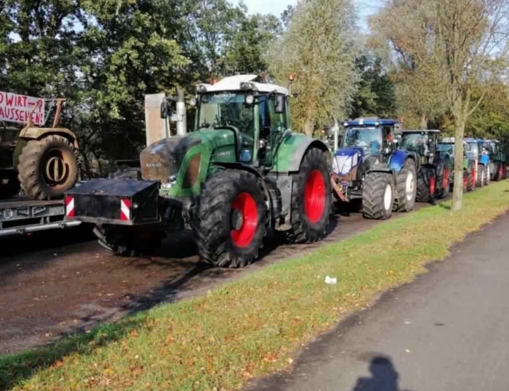 Landwirte aus Ostfriesland in Bonn