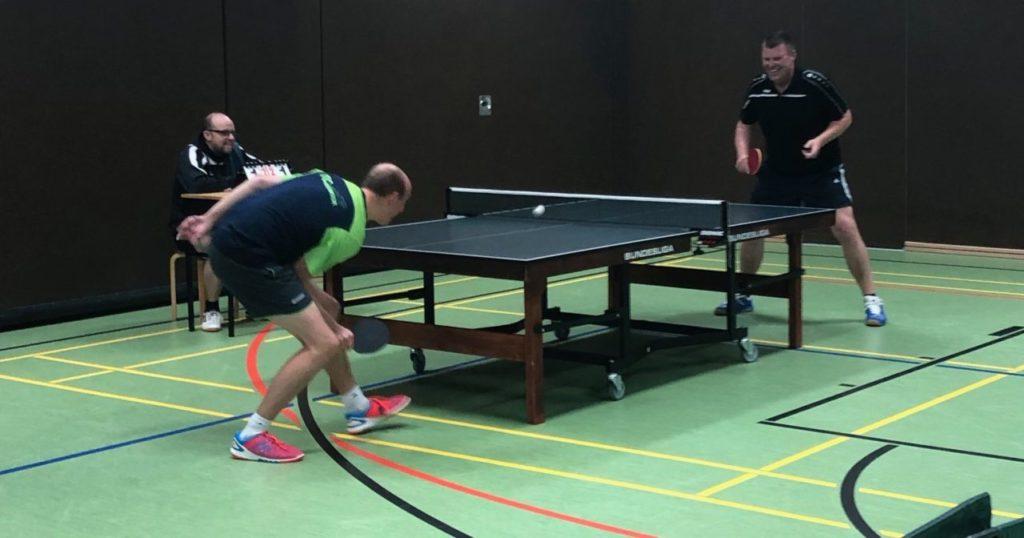 Tischtennis beim FC Loquard