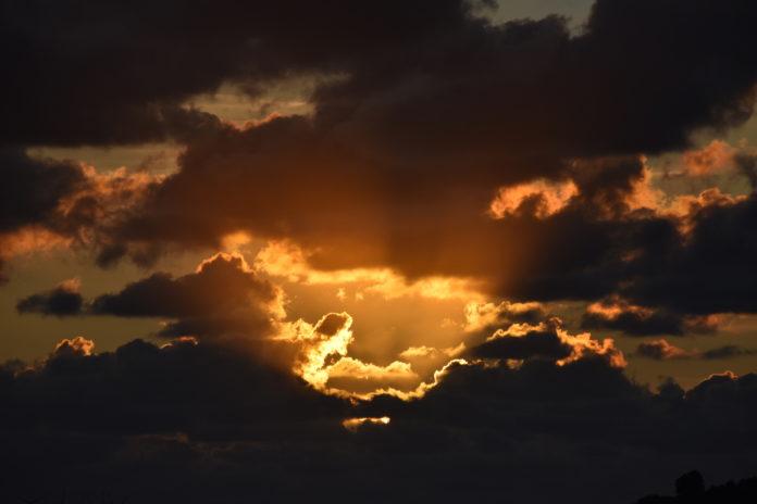 Bilderbogen Krummhörn Magazin Sonnenuntergang