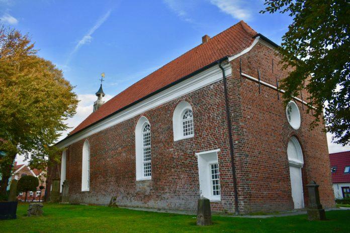 Bilderbogen Ostfriesland Greetsiel Ev. Kirche Krummhörn